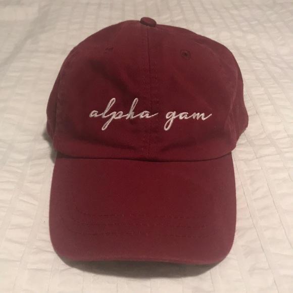"""Accessories - ALPHA GAMMA DELTA (AGD) """"Alpha Gam"""" Dad Hat"""